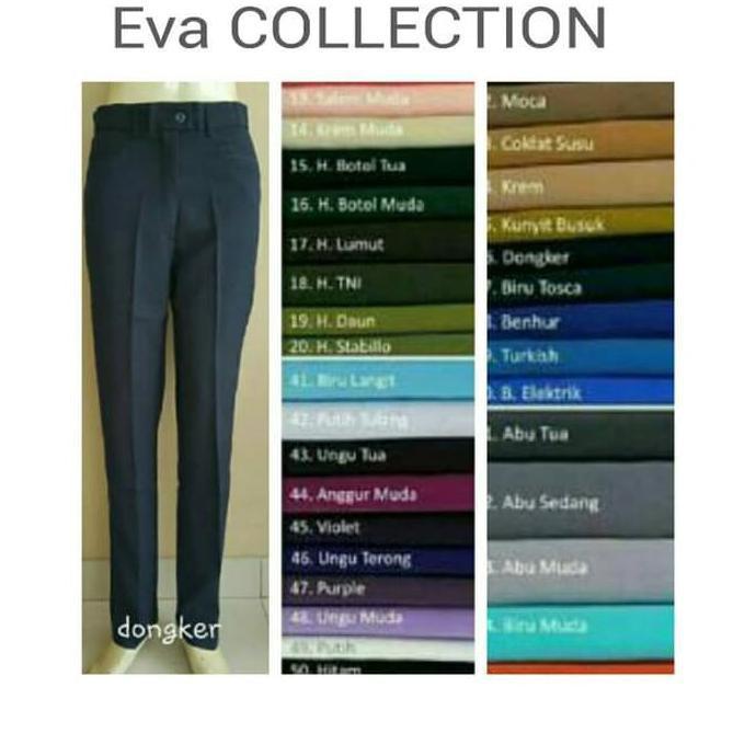 celana bahan wanita - Temukan Harga dan Penawaran Celana Online Terbaik -  Pakaian Wanita November 2018  4a38421910