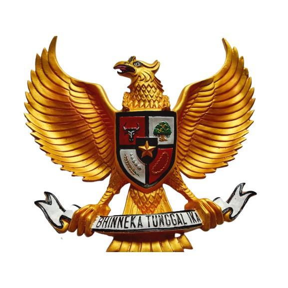 Hiasan Dinding Garuda Pancasila 3 Dimensi Fiber Hiasan Dinding Logo Burung Garuda Gold Timbul Shopee Indonesia