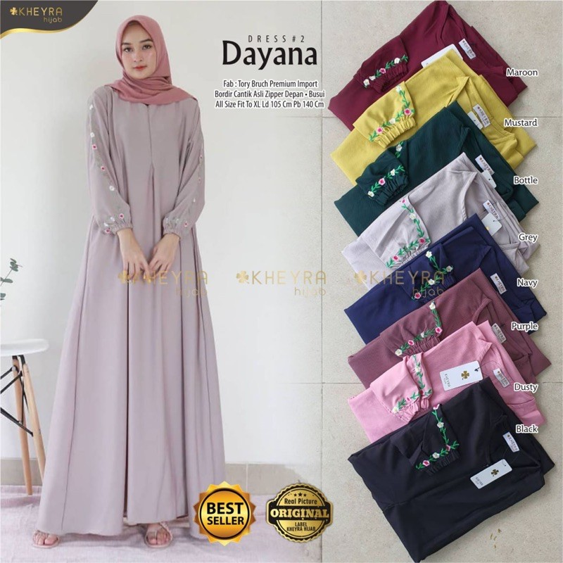 Dayana dress 2 original by kheyra