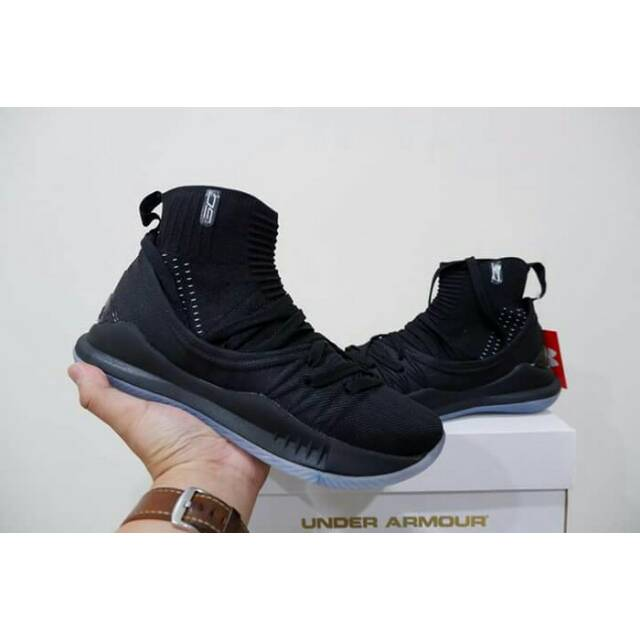 Sepatu basket curry 5 high oreo  f5dee45cf9
