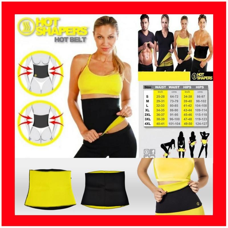 9b0afceece3be Korset penghancur lemak   Hot belt   hot shaper slim waist   hot shape