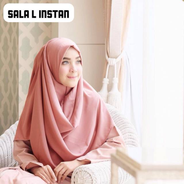 Jilbab pashmina instan sala Oshi medium Terlaris pasmina | Shopee Indonesia