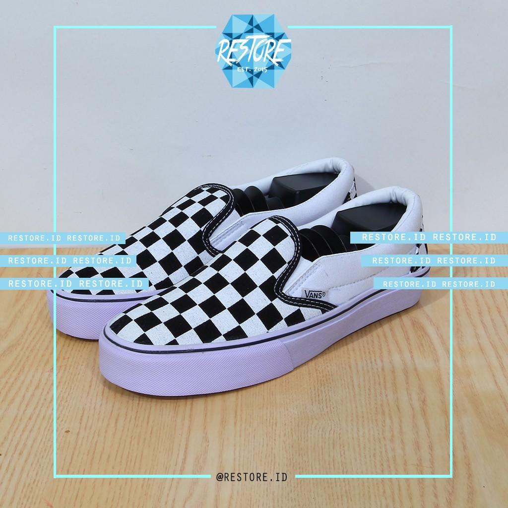 Sepatu Pria Vans Oldskool Grade Original   Cowok Sneakers Casual Sekolah  Main Skate Old Skool Cewek  308527b990