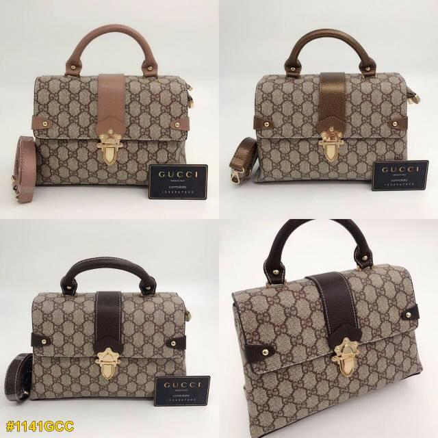 9218338ceafa21 Gucci Keepall Bandou Hand Shoulder Bag | Shopee Indonesia