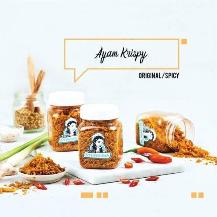 Resep Sarwendah Ayam Krispy Original Spicy Makanan Kering 100gr Makanan Rumahan Shopee Indonesia