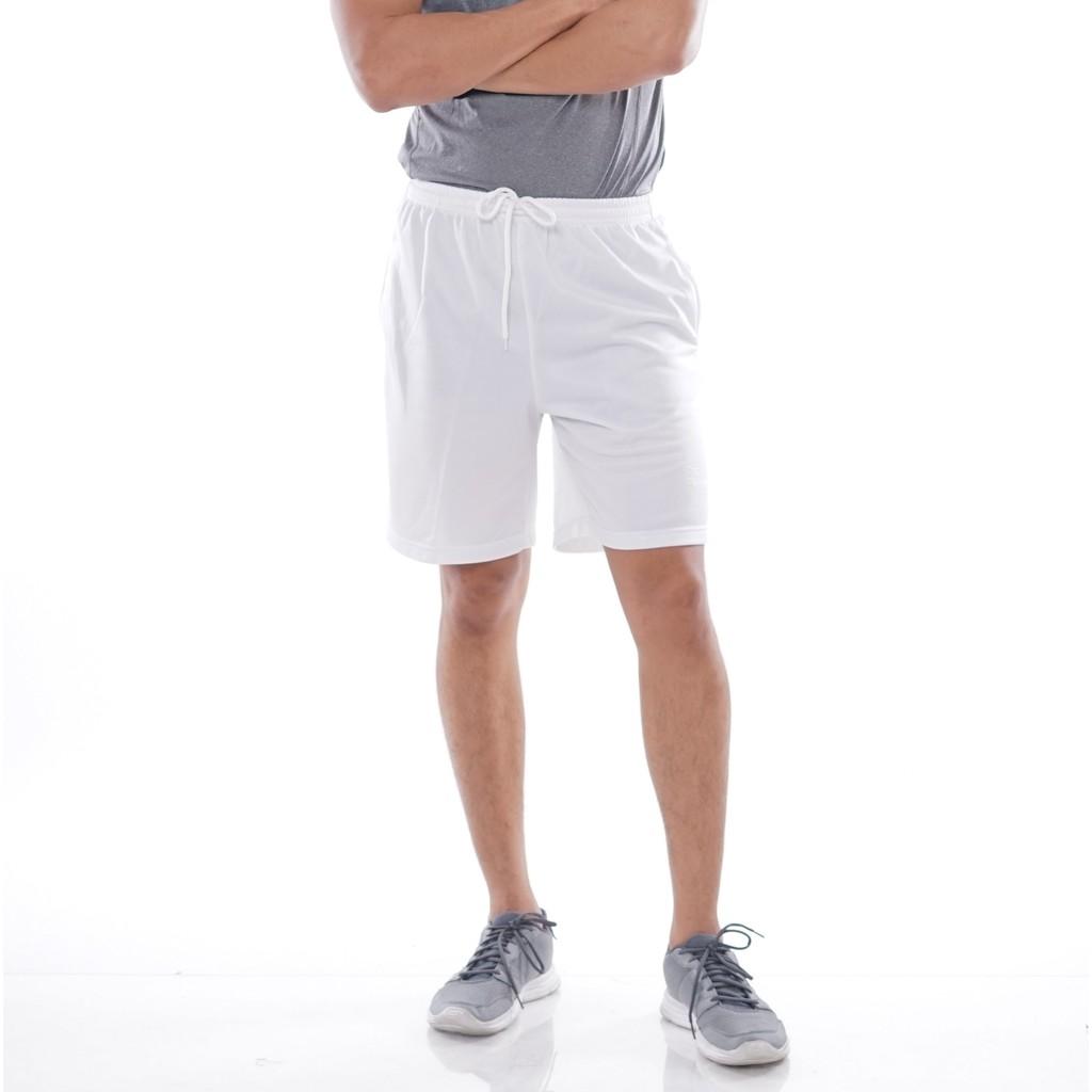 Celana Olahraga Polos Warna Putih