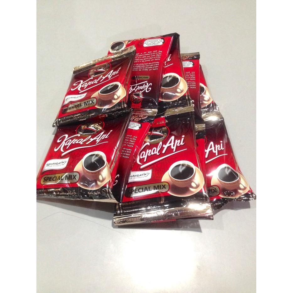 Kopi Kapal Api Spesial Mix 25gr X 30 Sachetkopi Gula Shopee Special Indonesia