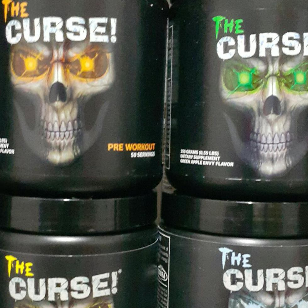 The Curse Cobralabs 50 Serving Shopee Indonesia Pre Work Out
