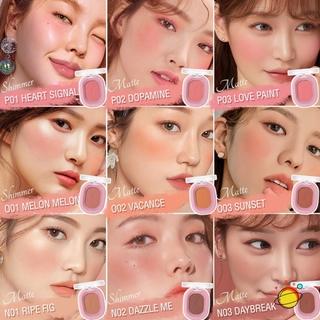 COD Pinkflash Ohmyhoney blush powder kosmetik matte natural repair blush on CANTIKLIB 7