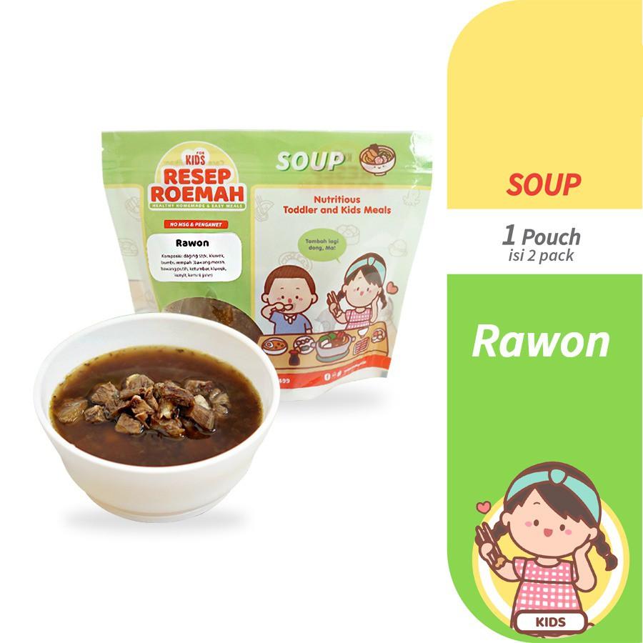 Resep Roemah Rawon Makanan Balita Homemade Makanan Anak Frozen Food Anak No Msg Shopee Indonesia