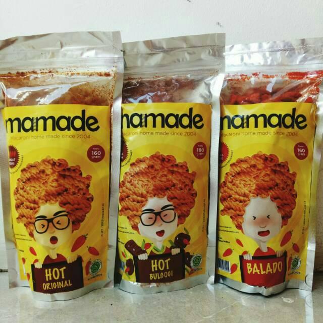 Mamade Makaroni 160gr Semua Rasa | Shopee Indonesia -. Source · Kelebihan Mamade Makaroni Hot