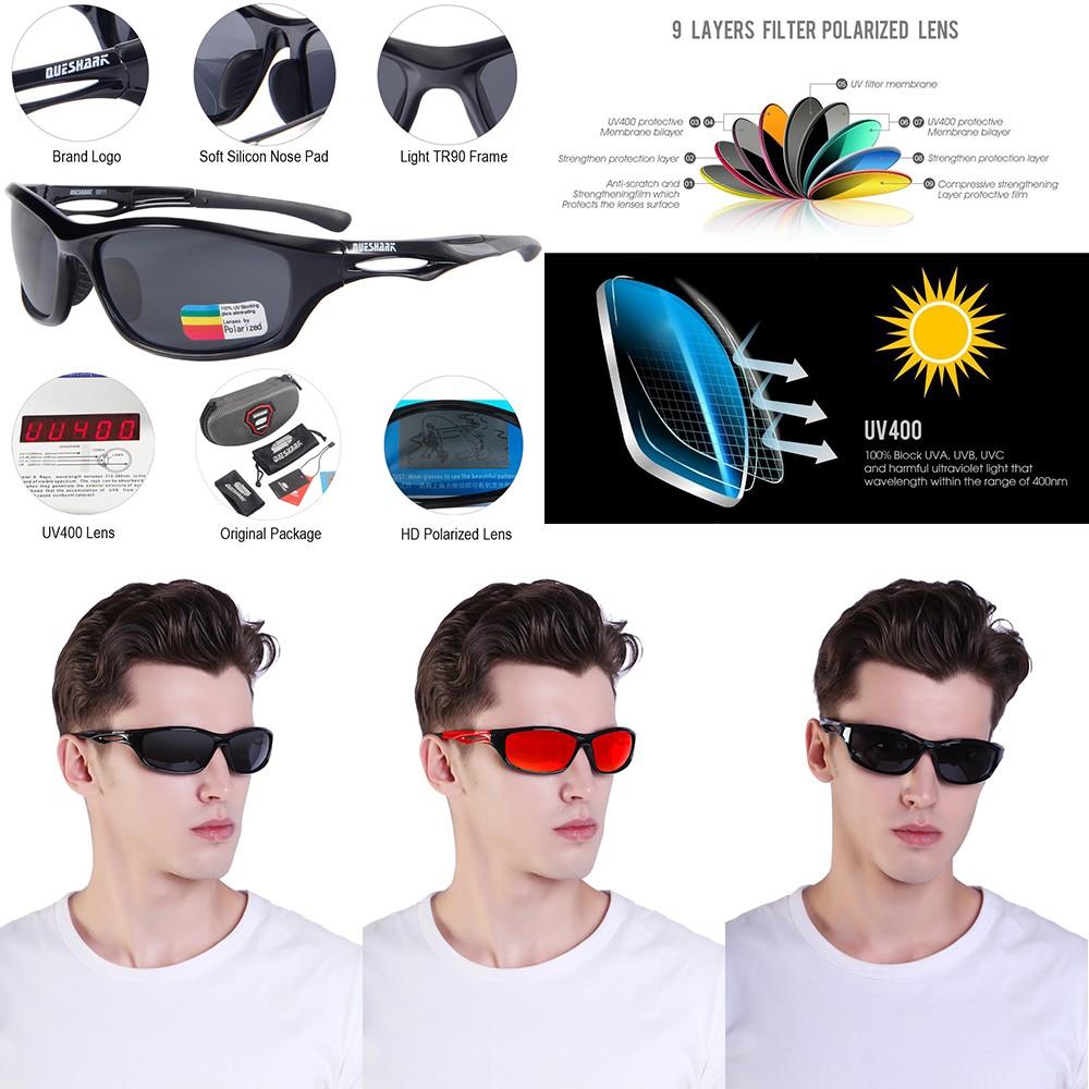 100/% UVA//UVB//UVC Polarized Sports Sunglasses Driving Fishing Cycling Glasses