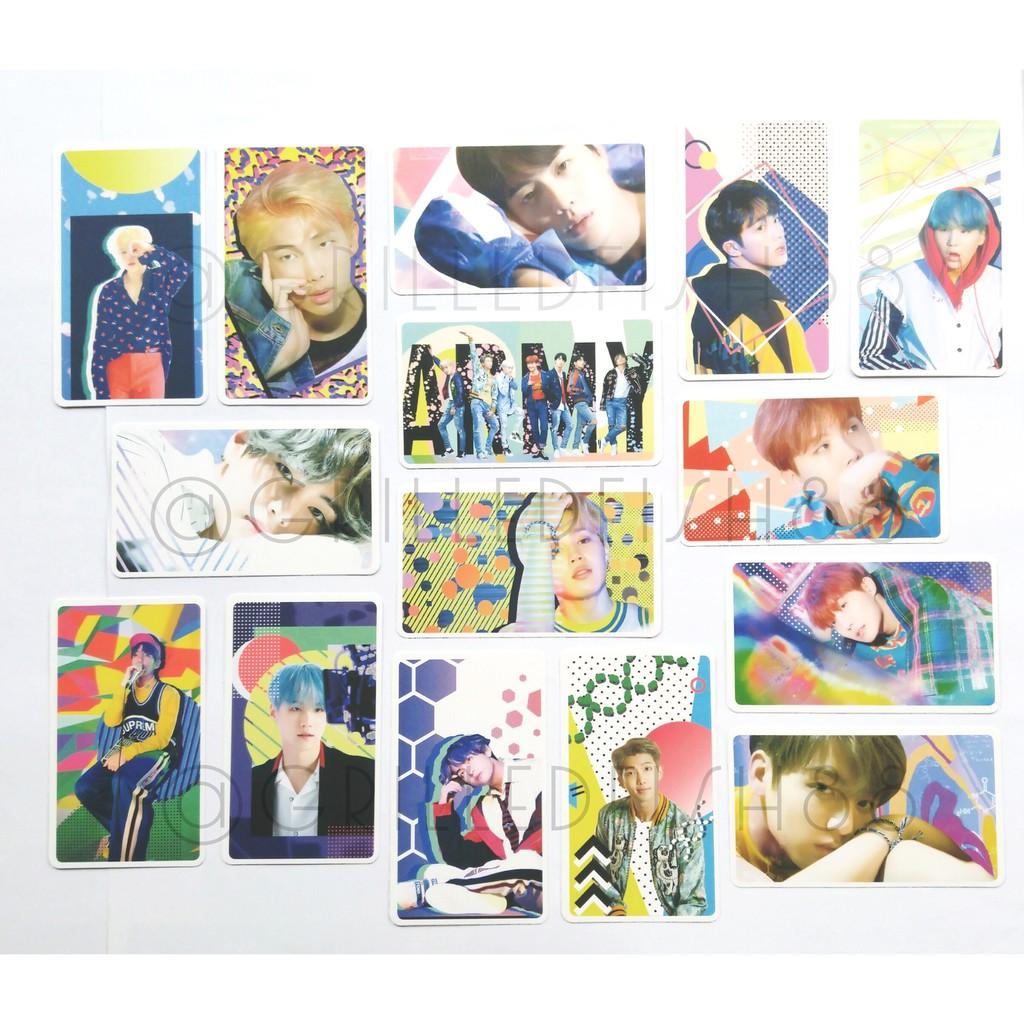 CEK VARIASI PRODUK] BTS D-ICON Photocard Only | BANGTAN SUGA