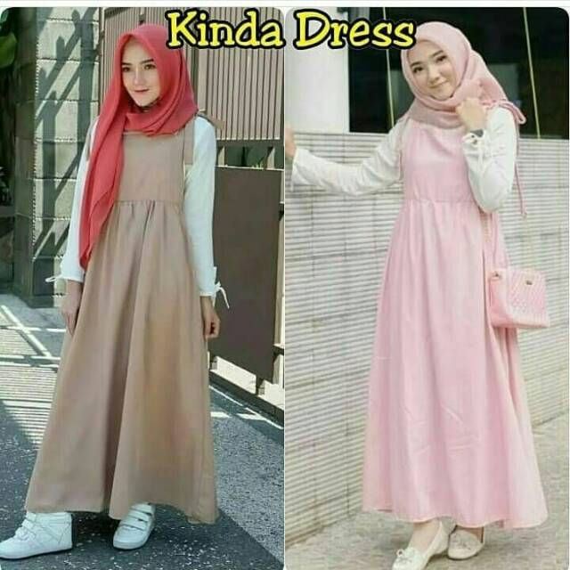 set hijab muslim/Dress panjang wanita muslim/Maxi dress muslim/st dhalia hijab