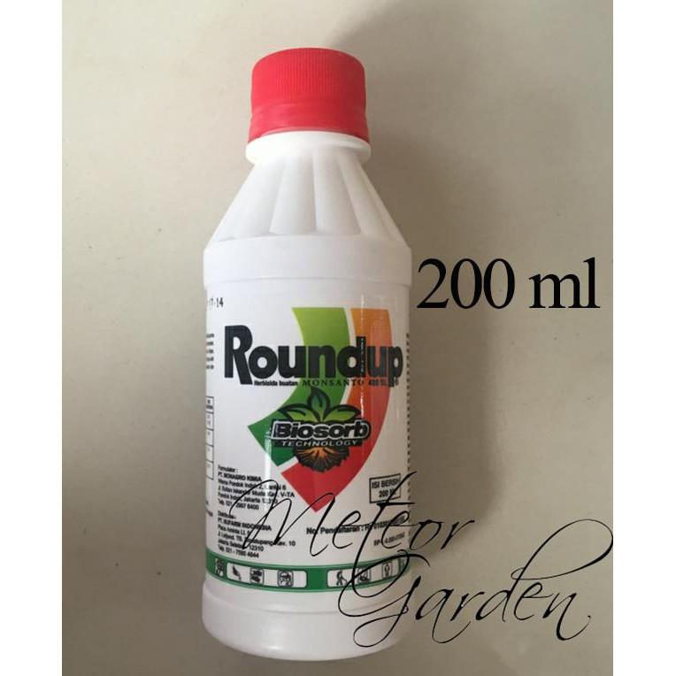 Roundup 486Sl Herbisida 200Ml Pembasmi Rumput Dan Gulma | Shopee Indonesia