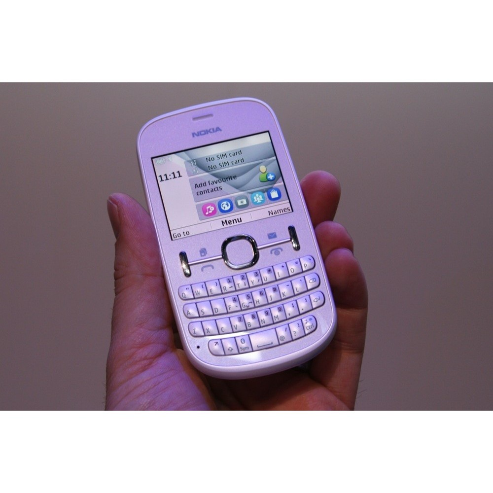 Nokia Asha 201 Shopee Indonesia 105 8 Mb Cyan