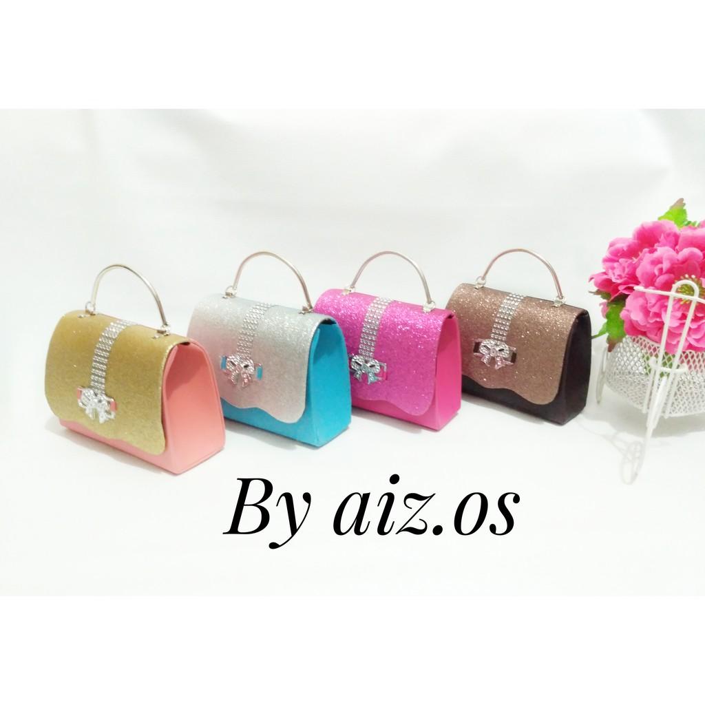Tas Pesta B 505 Clutch Lala Shopee Indonesia Selempang Import Hana Bag Ahphbu