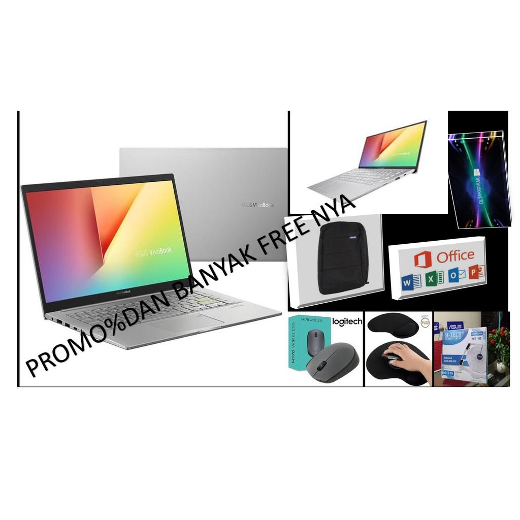 PROMO Laptop Murah Asus K413EQ-EB552TS Black Core i5 1135G7 Win10 RAM8GB SSD512