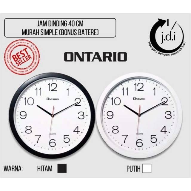 Jam Dinding Rolens Diameter 32 CM - List Silver - BEST SELLER ... 6f5efec7d2