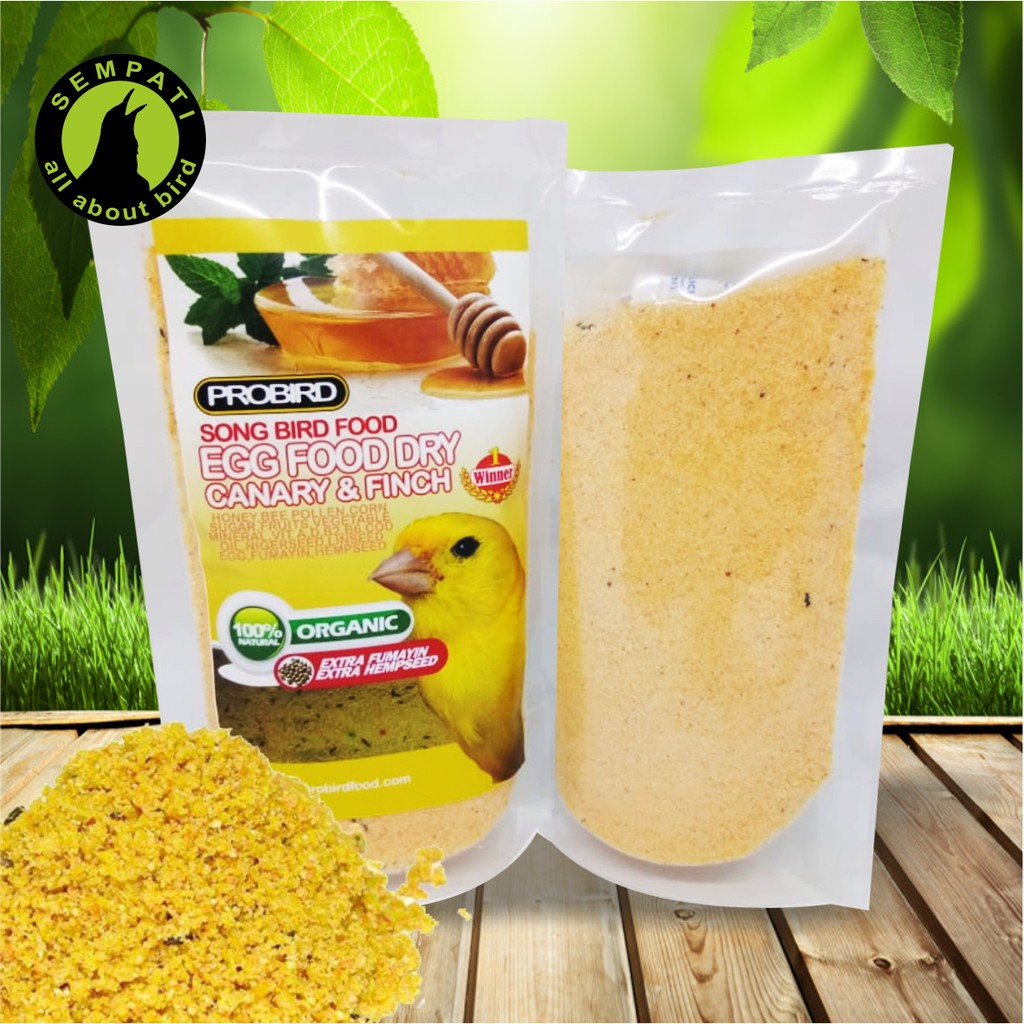 NA EGG FOOD WITH FRUITS PAKAN BURUNG LOVEBIRD KENARI DLL | Shopee Indonesia