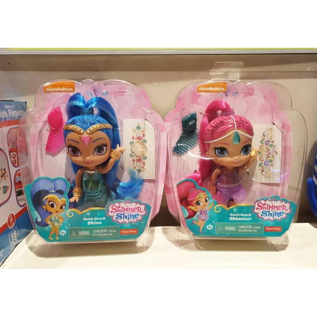 Boneka Karakter Shine Shimmer And Shine Nadia Zeta Layla Minu Shopee Indonesia