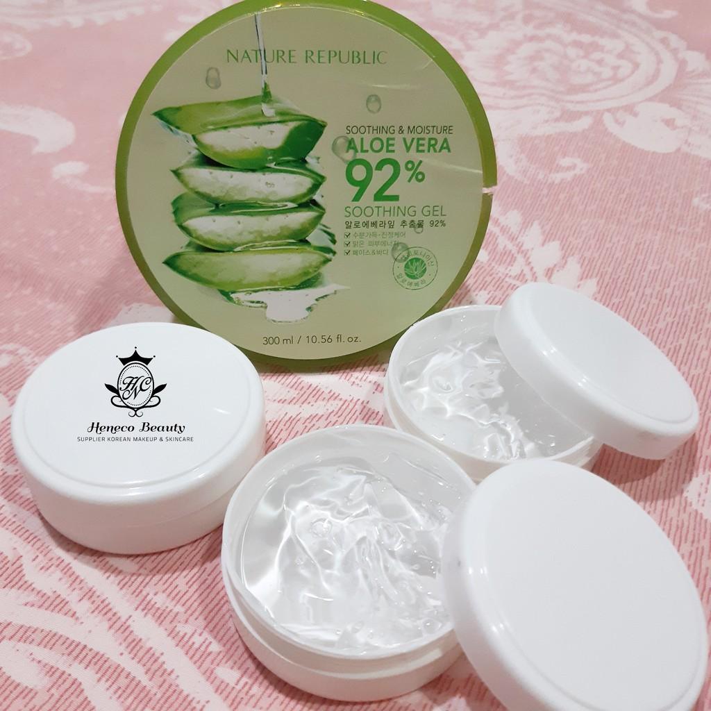 Share In Jar Nature Republic Aloe Vera Soothing Gel 30gr Shopee Nr Shoothing Republik 300ml Indonesia