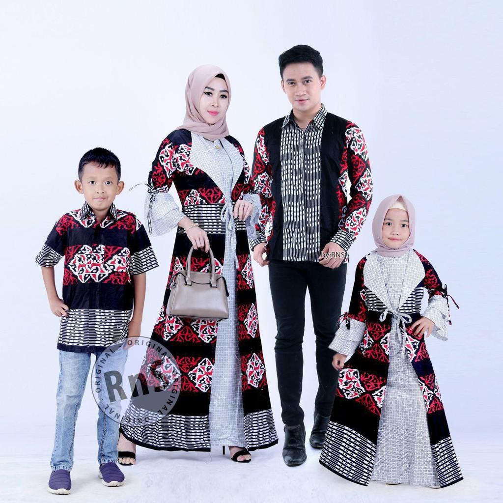 Batik Couple Model Gamis (11 BAJU) Jazz Blazer anak cowok dan cewek