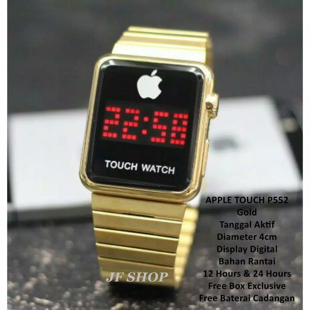 JAM TANGAN APPLE AS88 LCD TOUCH SCREEN   JAM IPHONE EXCLUSIVE MURAH ... 7b6ba323b7