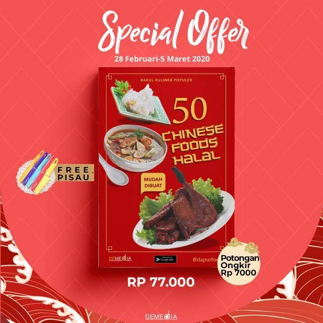 Pre Order 50 Chinese Food Halal Shopee Indonesia