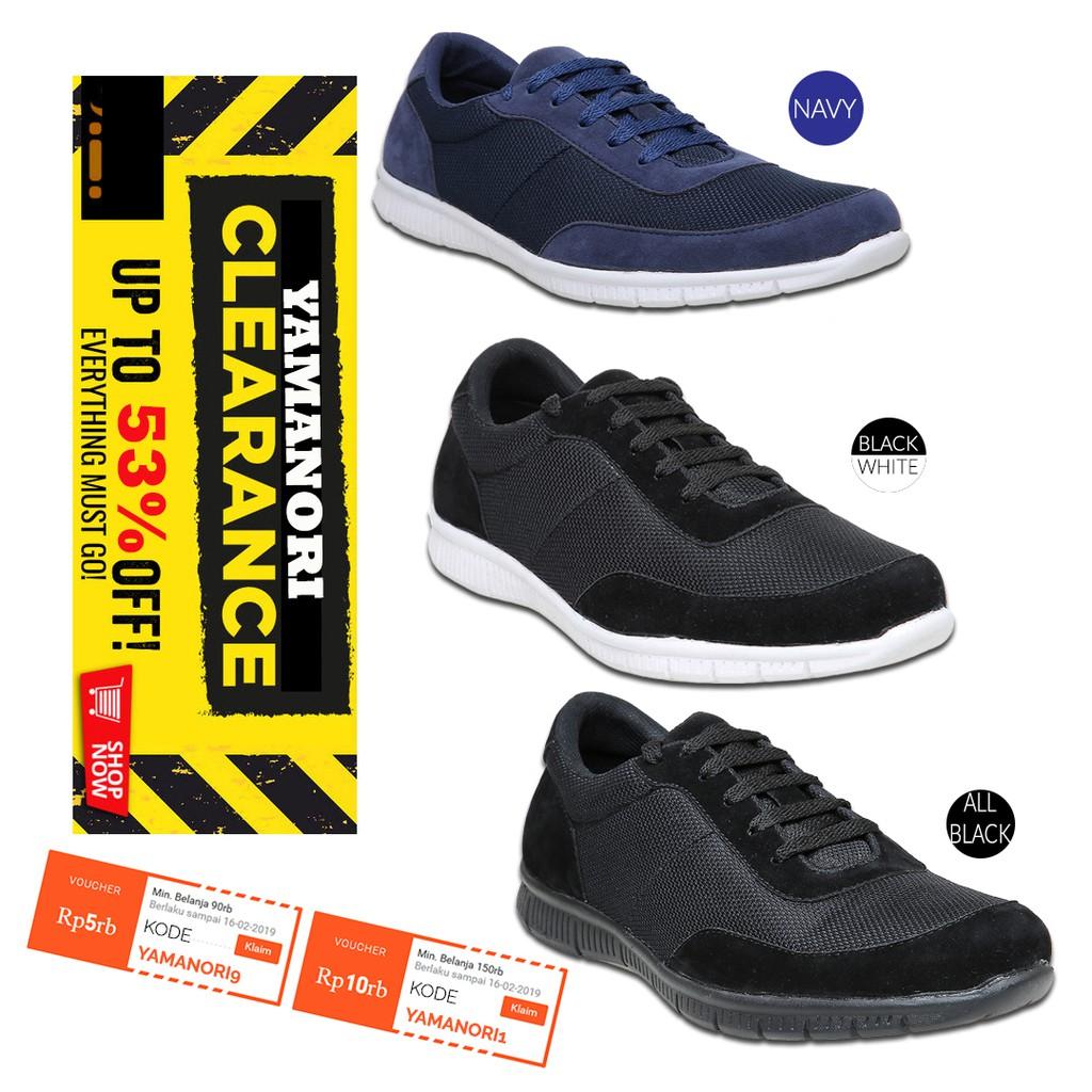 Sepatu Olahraga Low Top Sport Shoes Breathable Mesh Men Women Shoes ... 35d4b37342