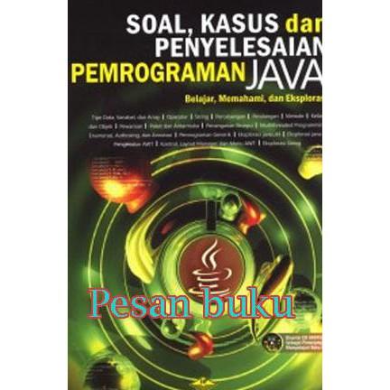 PROMO Buku Belajar Sendiri Pasti Bisa Pemrograman Java+cd HEMAT 20%   Shopee Indonesia