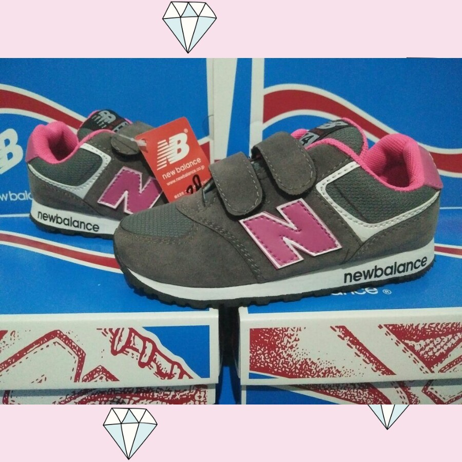 Sepatu New Balance Anak Pink Grade Original  ddaaaf9c42