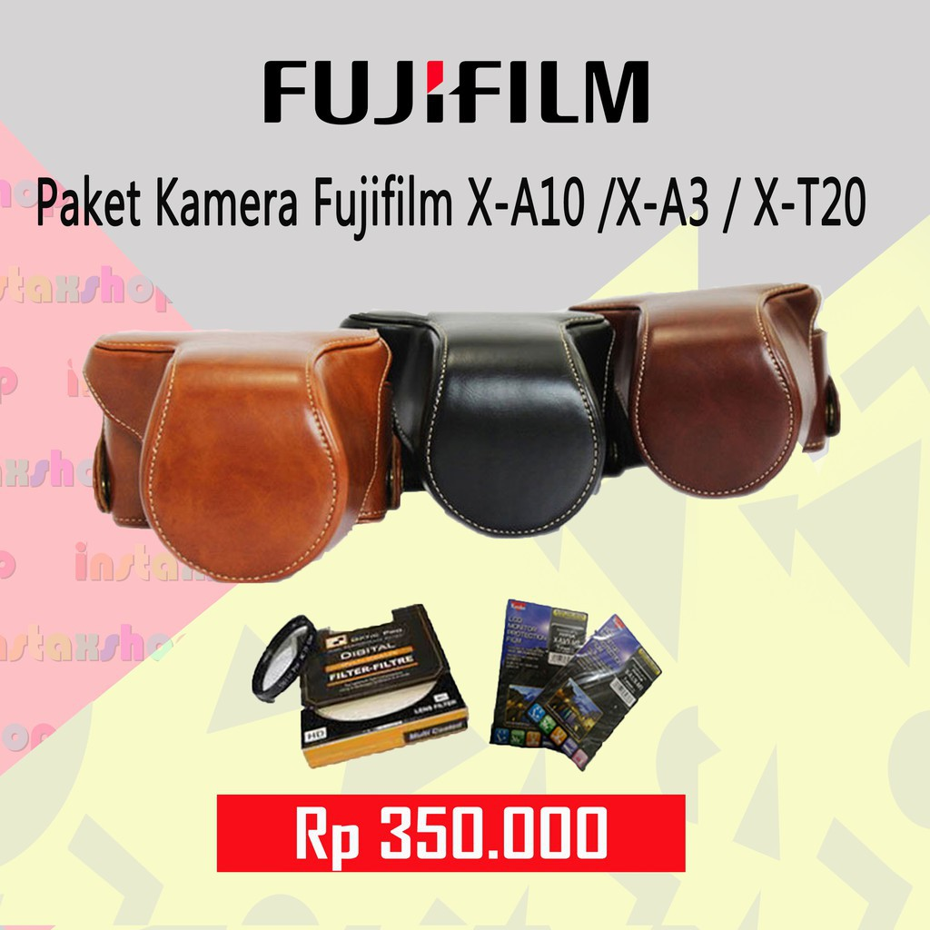 Fujifilm X A5 Kit Xc15 45mm F35 56 Free Instax Mini 8 T20 Xc 15 Silver Share Sp2 Sdhc Ultra 16gb Sirui Sling Bag Shopee Indonesia