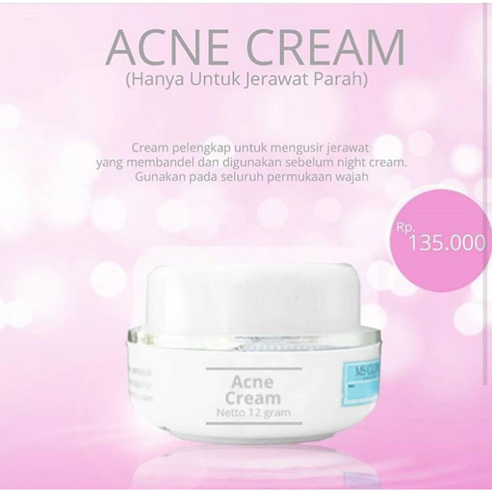 Jual Acne White Glow Glowing Cream Jerawat Pemutih Krim Plus Murah Shopee Indonesia