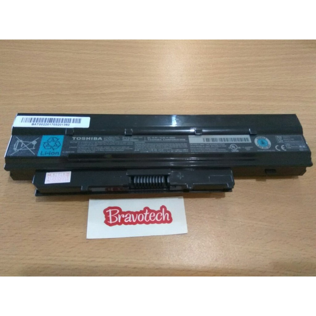 Toshiba Original Battery Pa3534 1bas Satellite A200 A205 M200 Baterai L200 Pa3535 Black Shopee Indonesia