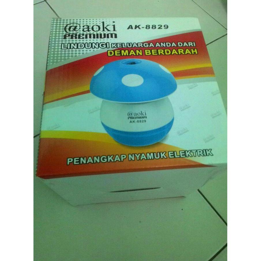Lampu Perangkap Penangkap Nyamuk Elektrik Otomatis 220v Efisien Mediatech Uv Biru 69953 Shopee Indonesia