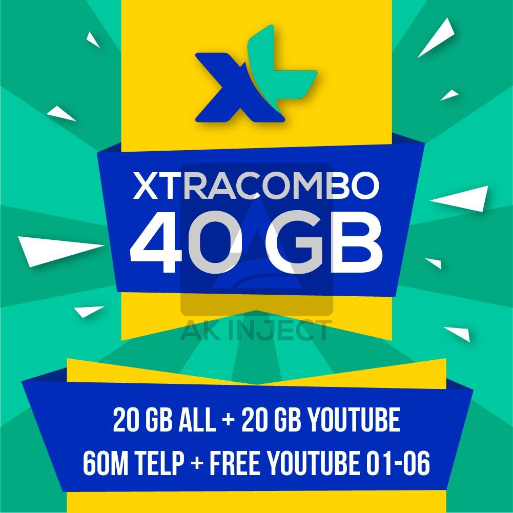 Isi Ulang Xl Xtra Combo Lite 21gb 21 Gb Top Up Inject Injek Kuota 4g 25 Kartu Perdana Internet 25gb Paket Data Shopee Indonesia