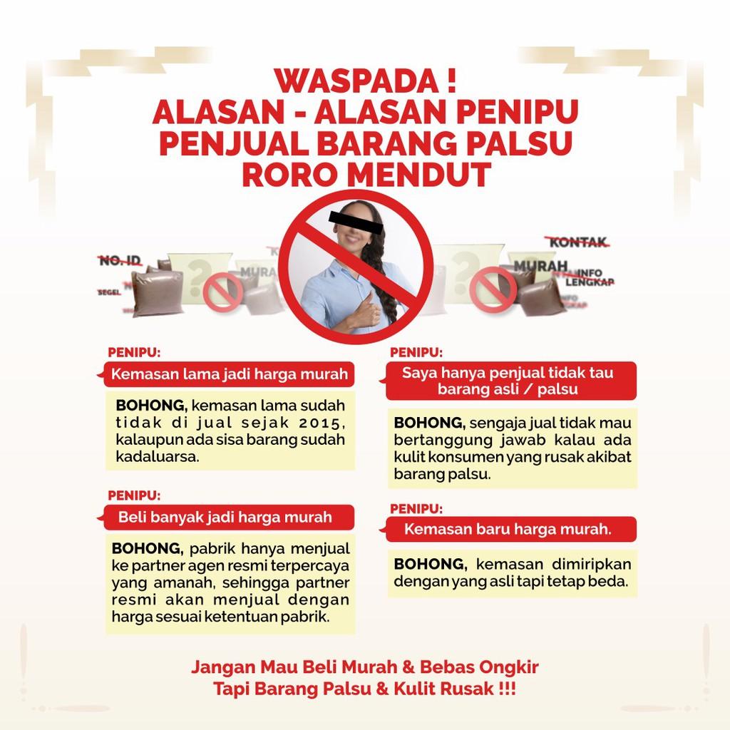 ORIGINAL (Mini Size) Vscrub Roro Mendut Lulur Pemutih Selangkangan Asli ...