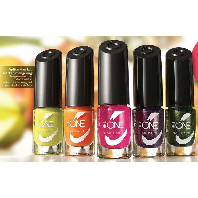 The One Nail Paint Nophan02 Shopee Indonesia