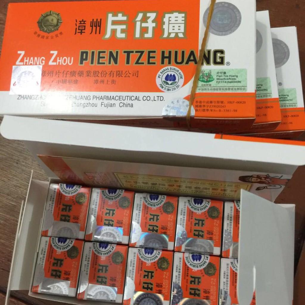 ... Zhang Zhou Pien Tze Huang Resmi Obat Penyembuh Luka Pasca Operasi Shopee Indonesia