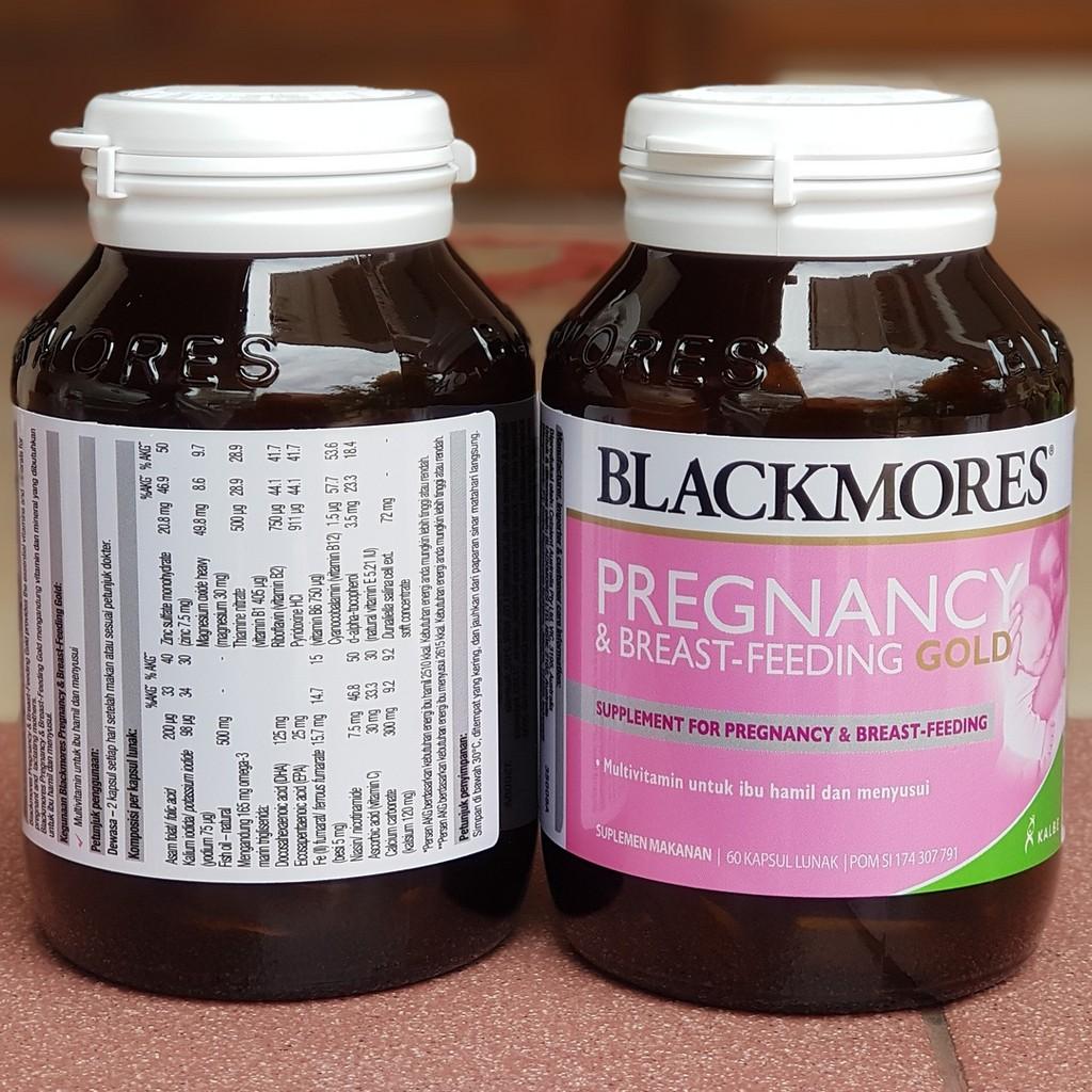 Blackmores Pregnancy And Breastfeeding Gold Bpom Kalbe 60 Kapsul Kids Body Shield Tablet Shopee Indonesia