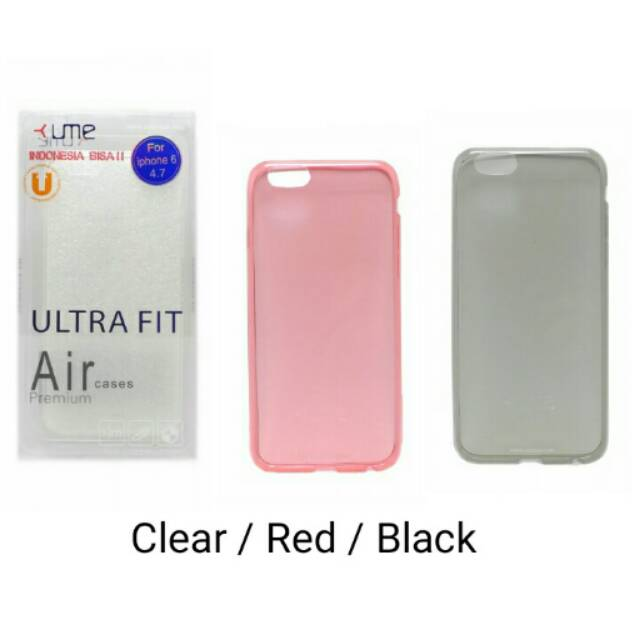 Ume Ultra Fit Air Silicon Softcase Galaxy A8 Plus 2018   Shopee Indonesia