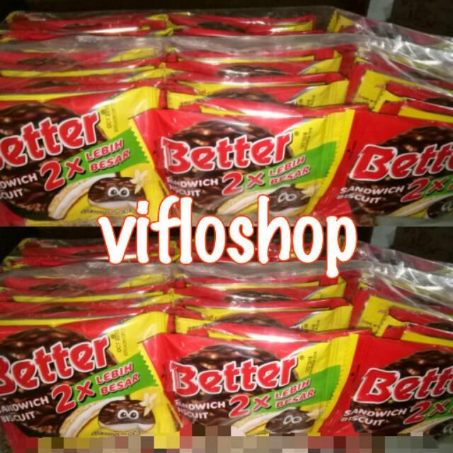 Biskuitkemasan: Kardusan & Eceran Biskuit Better Kemasan Sachet (10 X 22