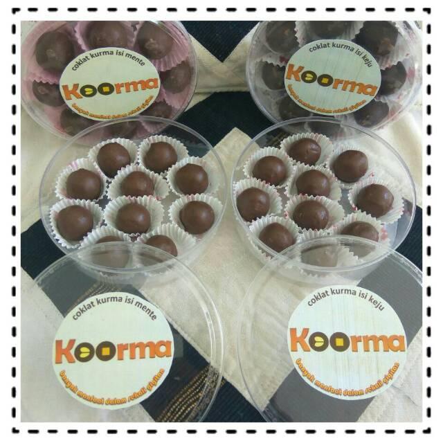 YMFood Coma Coklat Kurma Original - 60gr. Source · Kurma cokelat mente .