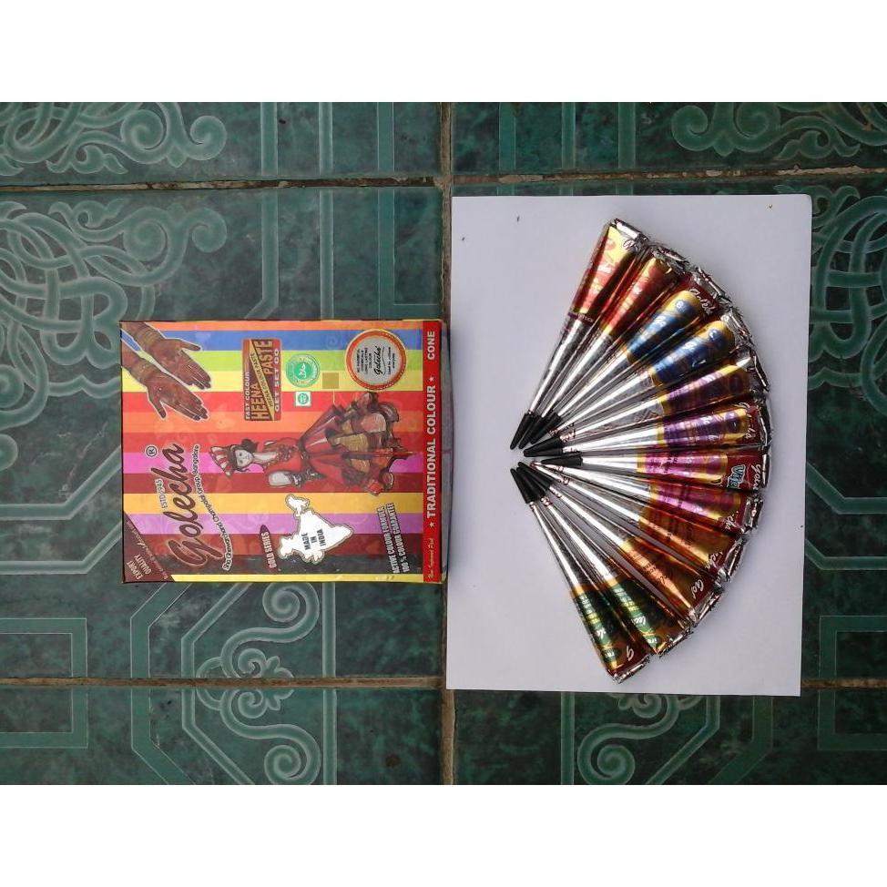 Henna Alis Warna Coklat Hitam Ecer 1pc Shopee Indonesia