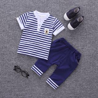 Infant Baby Boys Clothes Clothing Outfit Kids Boy Outfits Sets T-shirt Pants