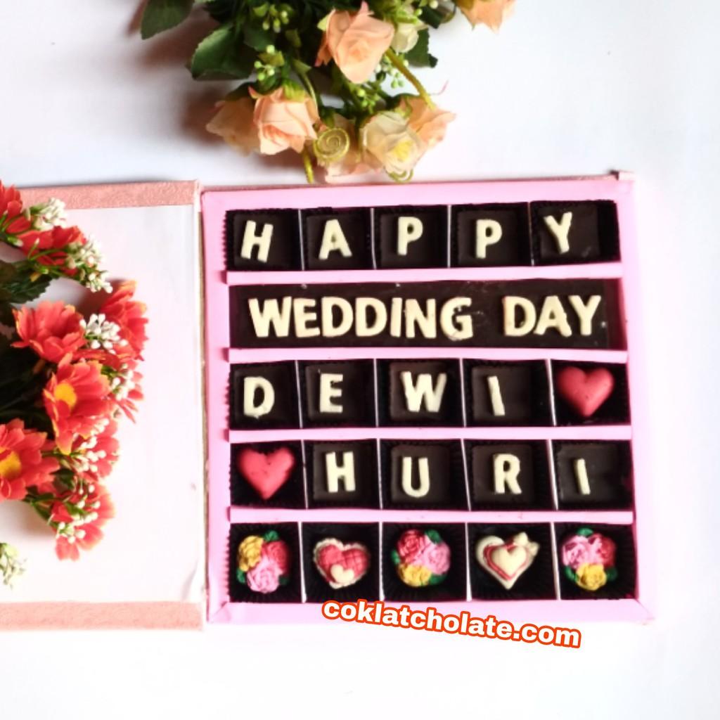Kado Coklat Ulang Tahun Pernikahan Anniversary Pacar Suami Istri Orang Tua Sahabat Teman Valentine Shopee Indonesia