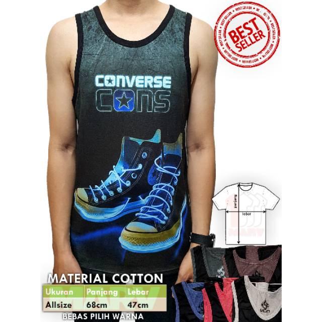 3a862d9d932b Kaos Singlet Cowok Full Print Baju Santai Tshirt Distro Pria Harga Termurah  Owl Burung Hantu