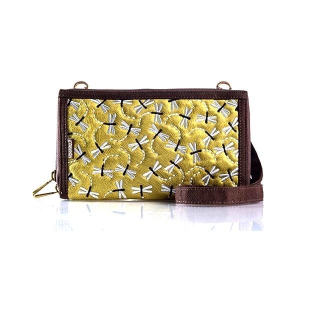 Tas mokamula / tas wanita selempang / Tas Dompet Mokamula Premium HPO Maroon Champa | Shopee