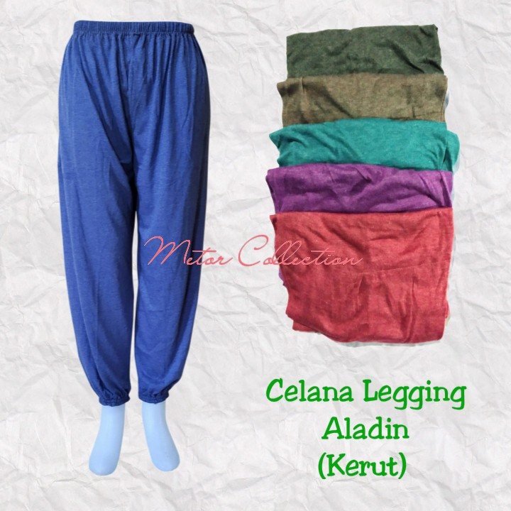 Celana Aladin Panjang Kerut Legging Dalaman Gamis Celana Legging Wanita Celamis Legging Wanita Shopee Indonesia